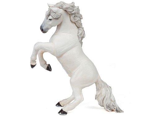 [PAPO パポ社] 蹴り立つ馬(white)