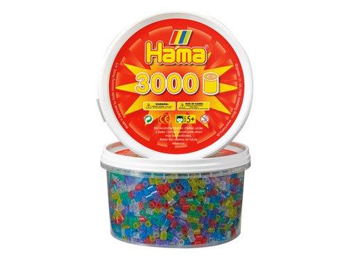 [Bornelund ボーネルンド]ハマビーズ 丸ボックス ラメ(3000ピース)