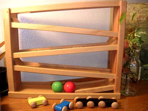 [ダイワ]ボールと車のつり橋付きスロープ