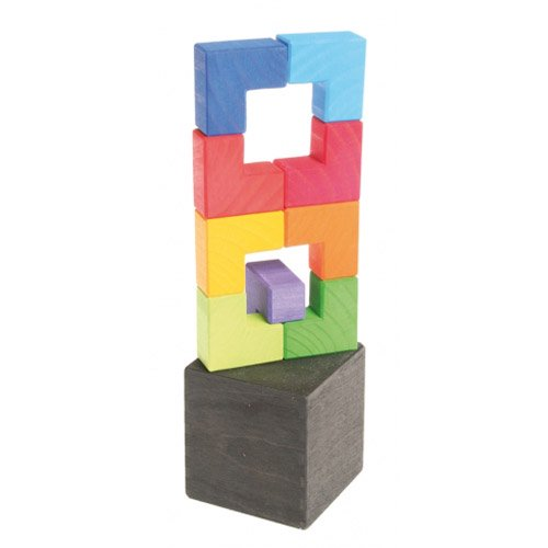 [Grimm's Spiel & Holz Design グリムス社]GMキューブ エル キューブボックス 9P