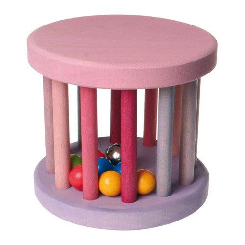 [Grimm's Spiel & Holz Design グリムス社]ベービーローラー ピンク