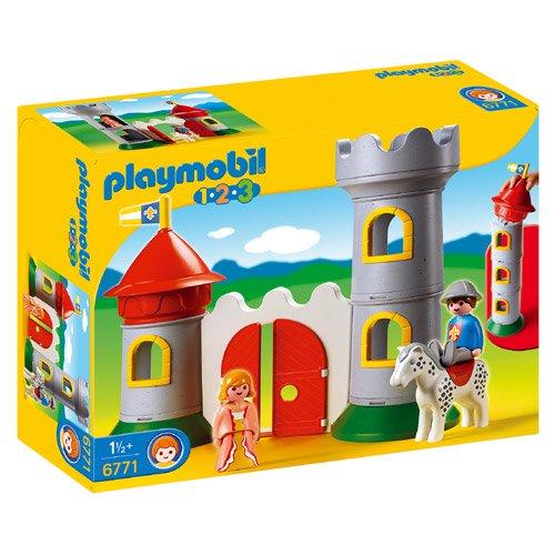 [PLAYMOBIL プレイモービル]1.2.3 騎士とお城