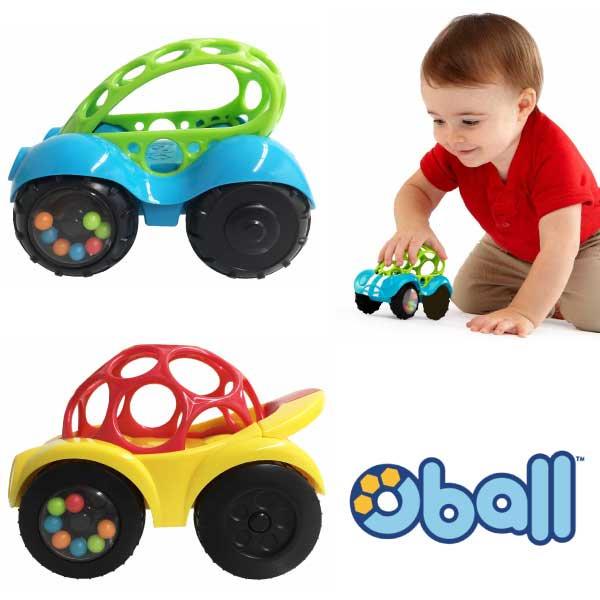 オーボール ラトル&ロール レッドカー/ブルーバギー