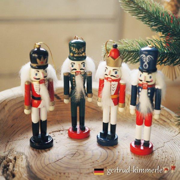 [Kimmerle キマール社]クリスマス 木製オーナメント くるみ割り人形 12cm