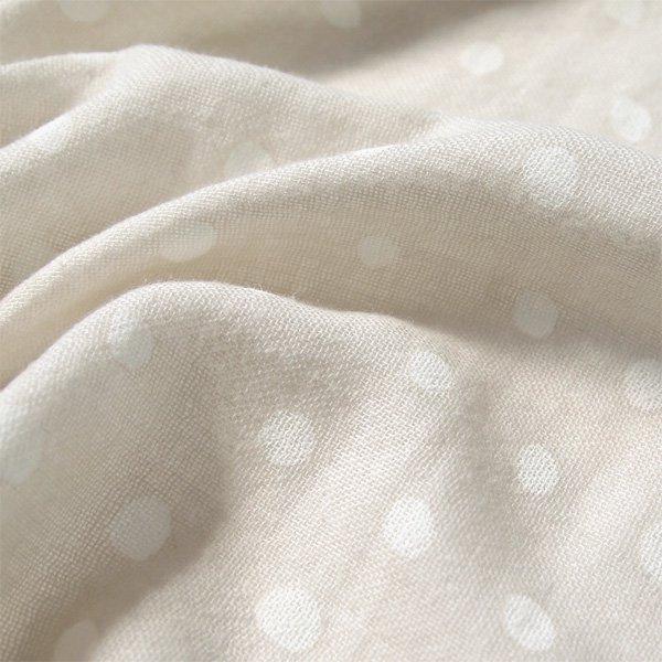 [Naomi Ito ナオミ イトウ]わたガーゼ たまごマットおくるみCLOUD こんぺい(グレー)