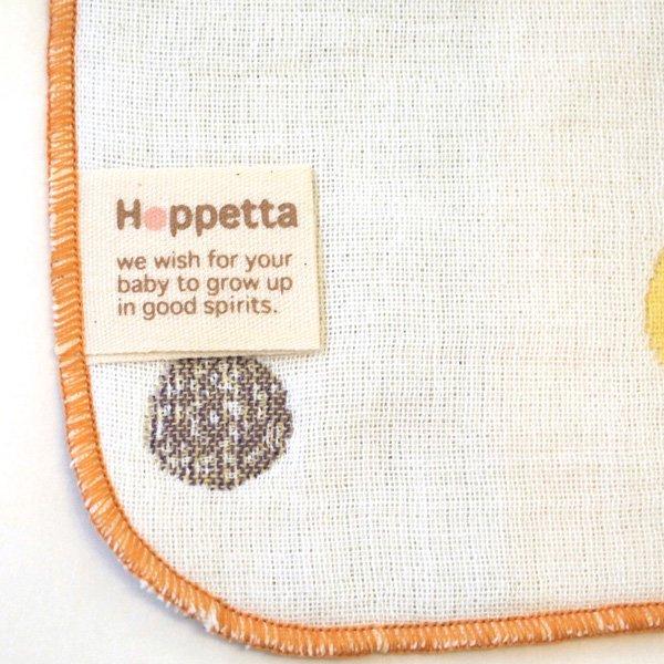 【メール便可】[Hoppetta ホッペッタ]champignon(シャンピニオン) 6重ガーゼハンカチ