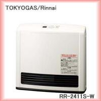 東京ガス ガスファンヒーター 都市ガス12A13A用 RR-2411S-W