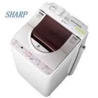 洗濯機/SHARP Ag+イオンコート コンパクト洗濯乾燥機 ES-TG55J-P 5.5Kg