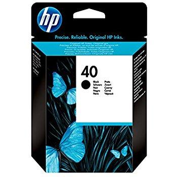 HP 40プリントカートリッジ 黒