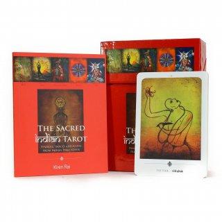 The Sacred Indian Tarot (カード22枚、ハンドブック付)(赤箱)