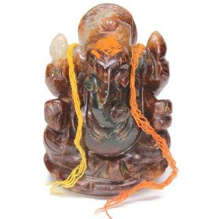 ゴーメーダ(ヘソナイト)・ガネーシャ神像(約260グラム)