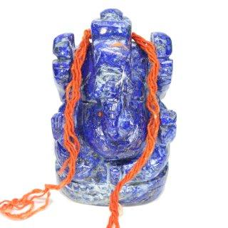 ラピスラズリ・ガネーシャ神像(約249グラム)