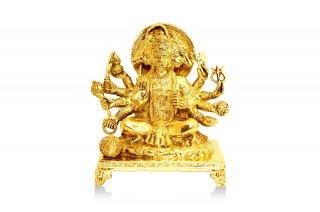 パンチャームカ・ハヌマーン神像(真鍮製、高さ約22.8cm)(受注製作)