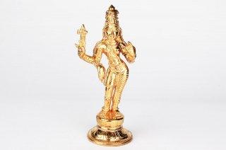 アルダナーリーシュヴァラ神像(パンチャローカム)(受注製作)