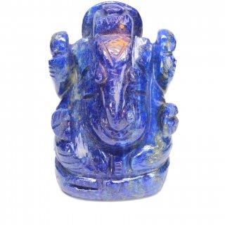 ラピスラズリ・ガネーシャ神像(約424グラム)