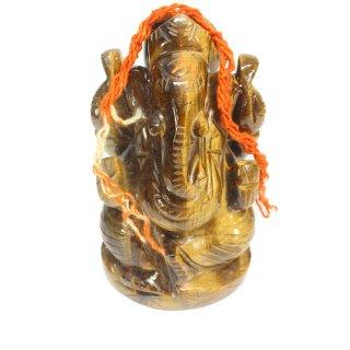 タイガーアイ・ガネーシャ神像(約501グラム)