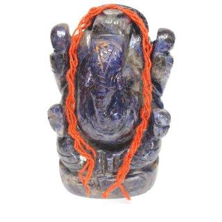 ソーダライト・ガネーシャ神像(約248グラム)