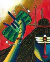 シヴァ神のダマル太鼓 By Priya Krishnan Das