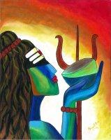 ニーラカンタ 毒を飲み干すシヴァ神 By Priya Krishnan Das