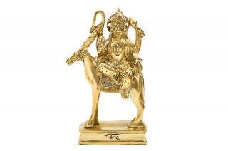 チャンドラ神像(真鍮製)(受注製作)