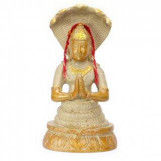 パタンジャリ神像(真鍮製)