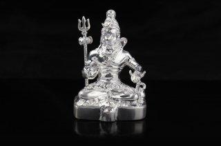 シヴァ神座像(シルバー、約61グラム)(受注製作)