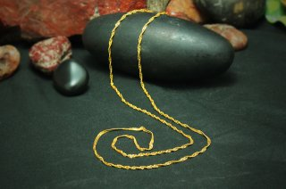 ゴールド(22K)・チェーン(GC03)(受注製作)