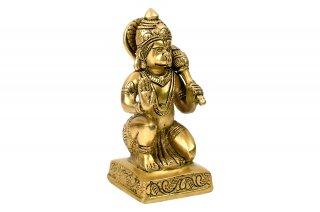 ハヌマーン神像(真鍮製、ガダー)(受注製作)