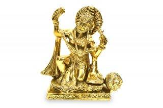 ハヌマーン神像(真鍮製、バジャン)(受注製作)