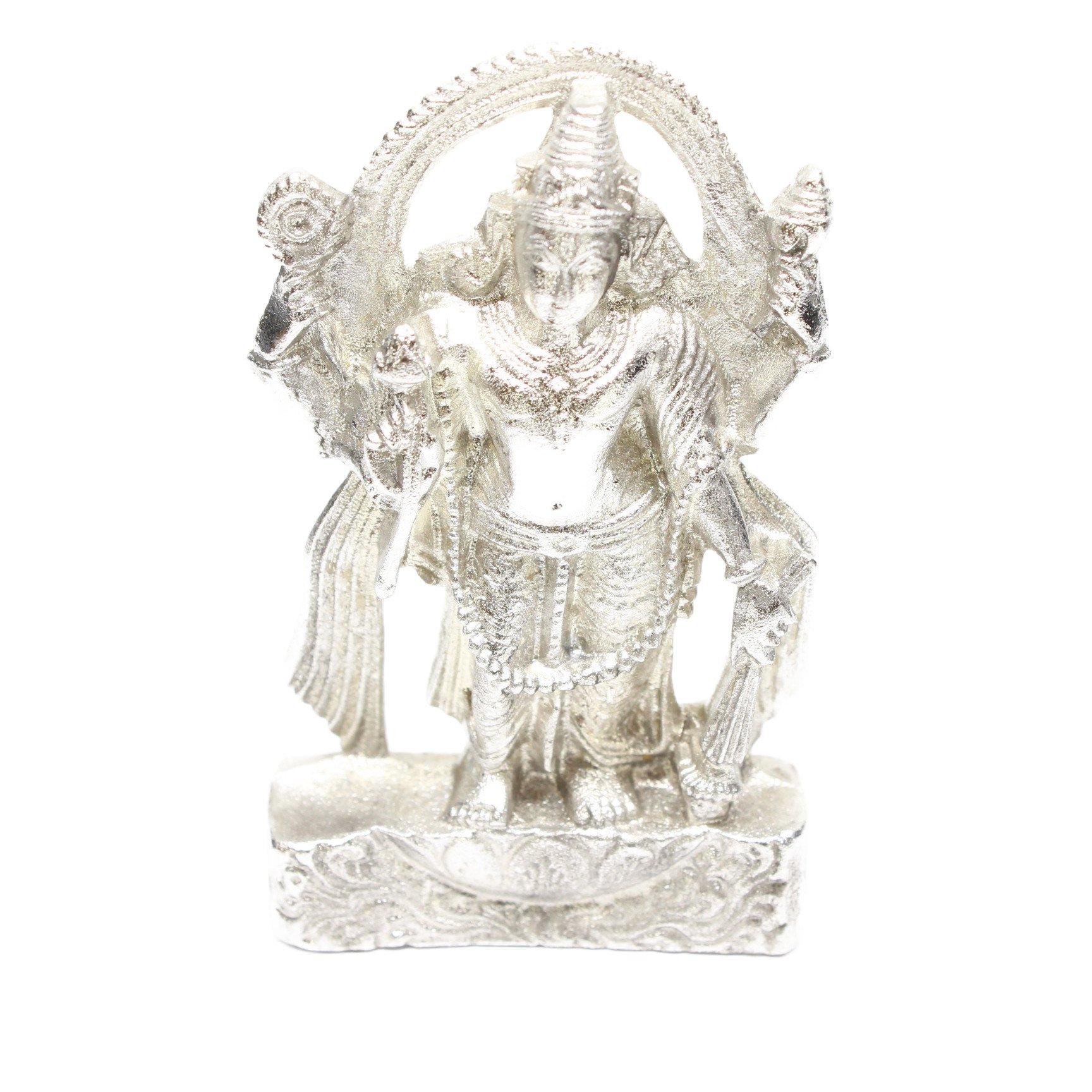 パラド・ヴィシュヌ神像(高さ約7.5cm、...