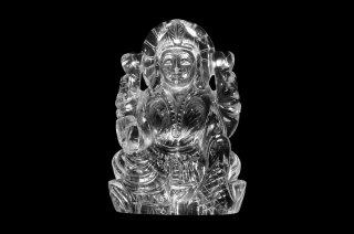 クリスタル・ラクシュミー女神像(受注発注品)