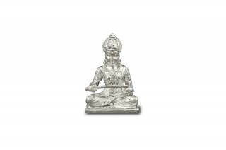 アンナプールナー女神像(シルバー、約160グラム)(受注製作)
