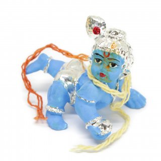 ラッドゥー・ゴーパーラ・クリシュナ神像(ブルー)