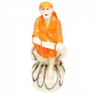 シルディ・サイババ神像(オレンジ)