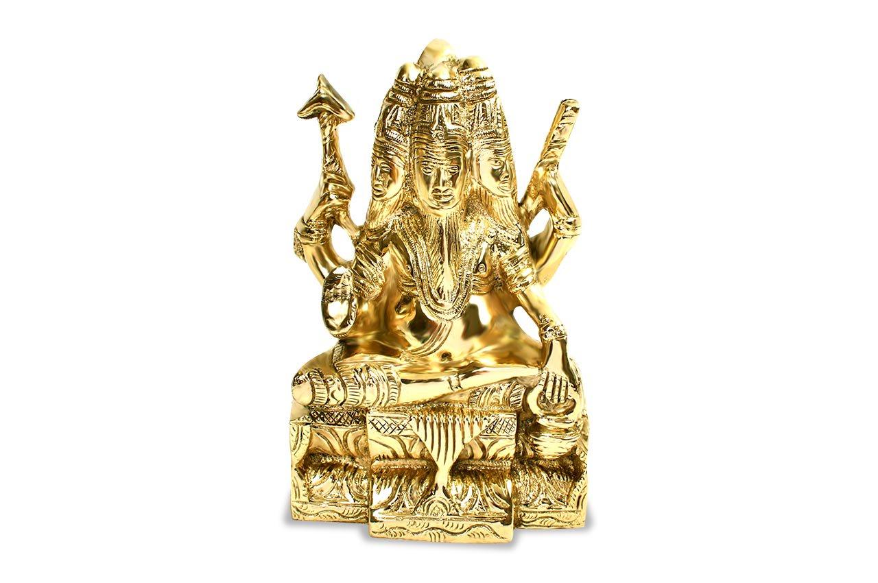 ブラフマー神像(真鍮製)(受注製作)
