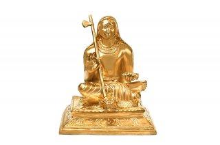 アーディ・シャンカラーチャリヤ神像(ブロンズ製)(受注製作)