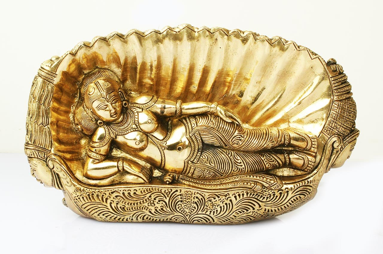 シーター女神像(真鍮製)(受注製作)