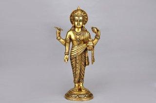 ダンヴァンタリ神像(真鍮製)(受注製作)