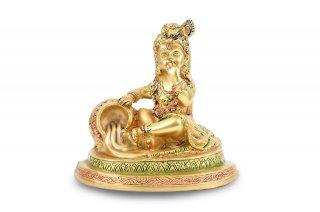 バーラ・クリシュナ神像(真鍮製)(受注製作)