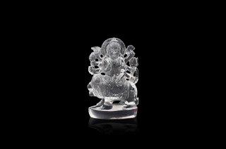 クリスタル・ドゥルガー女神像(約224グラム)(受注発注品)
