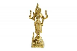 カールッティケーヤ神像(真鍮製、高さ約19.7cm)(受注製作)