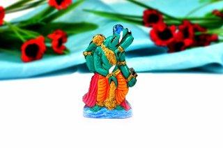 ヴァラーハ神像(シャーラグラーマ、36グラム)(受注発注品)