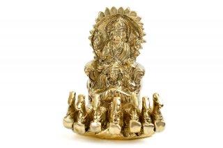 スーリヤ神像(真鍮製、高さ約7.6cm)(受注製作)