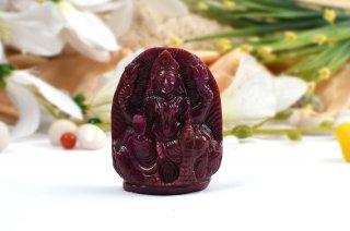 ルビー・ラクシュミー女神像(約104g)(受注発注品)