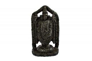 ティルパティ・バラジ神像(シャーラグラーマ、913g)(受注発注品)