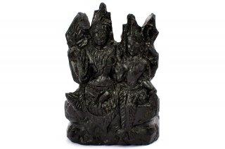 ラクシュミー・ナーラーヤナ神像(シャーラグラーマ、79グラム)(受注発注品)