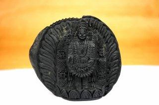 ティルパティ・バラジ神像(シャーラグラーマ、474g)(受注発注品)
