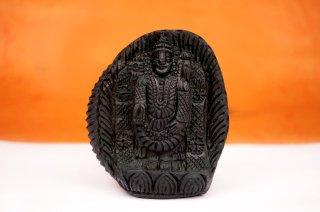 ティルパティ・バラジ神像(シャーラグラーマ、267g)(受注発注品)