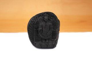 ティルパティ・バラジ神像(シャーラグラーマ、462g)(受注発注品)