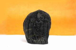 ティルパティ・バラジ神像(シャーラグラーマ、409g)(受注発注品)